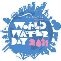 World Water Day 2011 Logo (English)